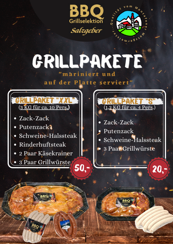 Grillpaket Info